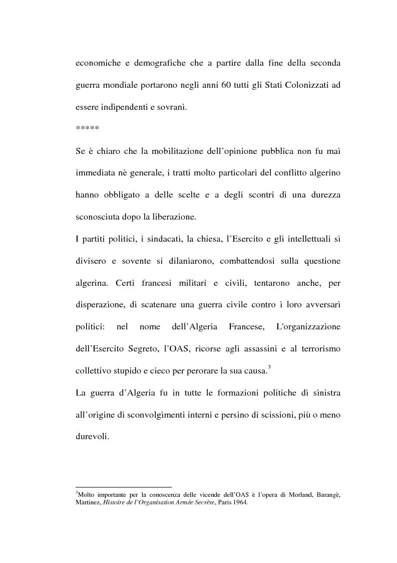 Anteprima della tesi: Il problema algerino e de Gaulle, Pagina 2
