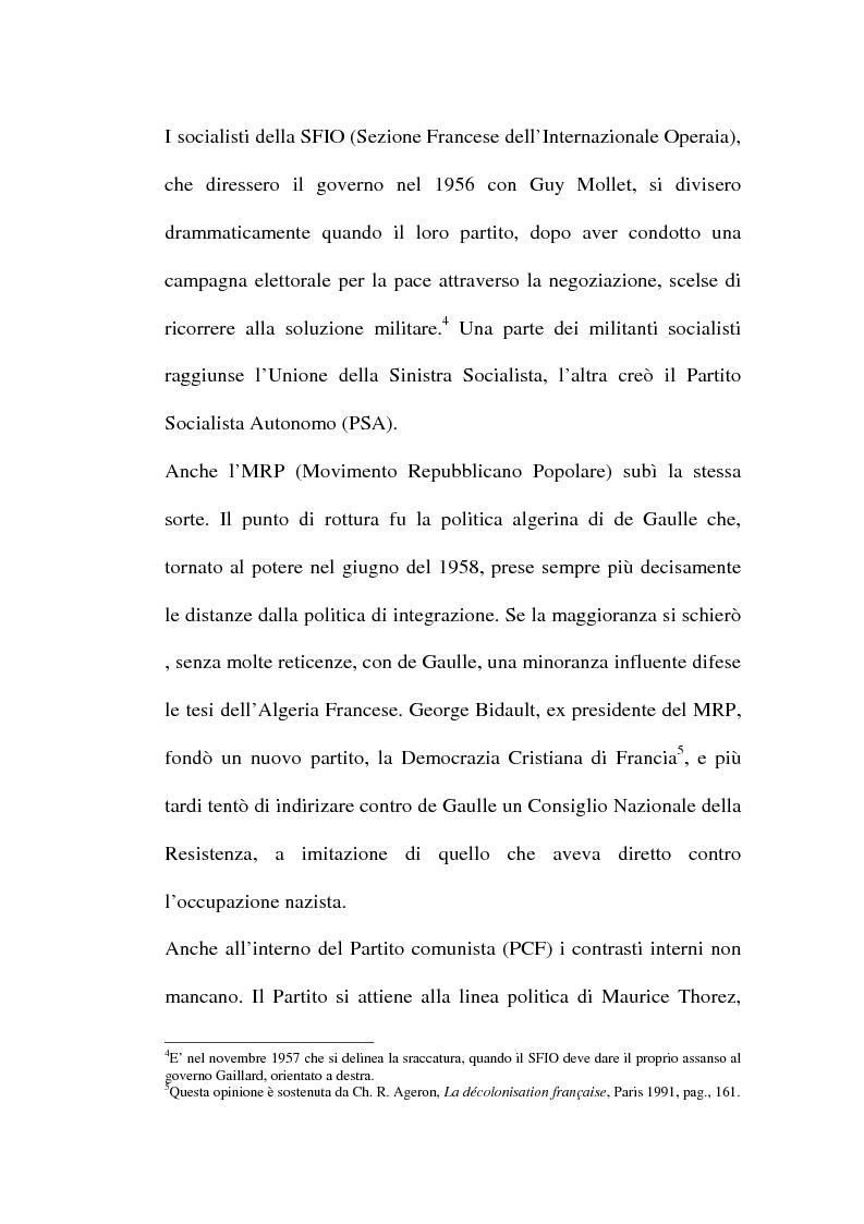 Anteprima della tesi: Il problema algerino e de Gaulle, Pagina 3