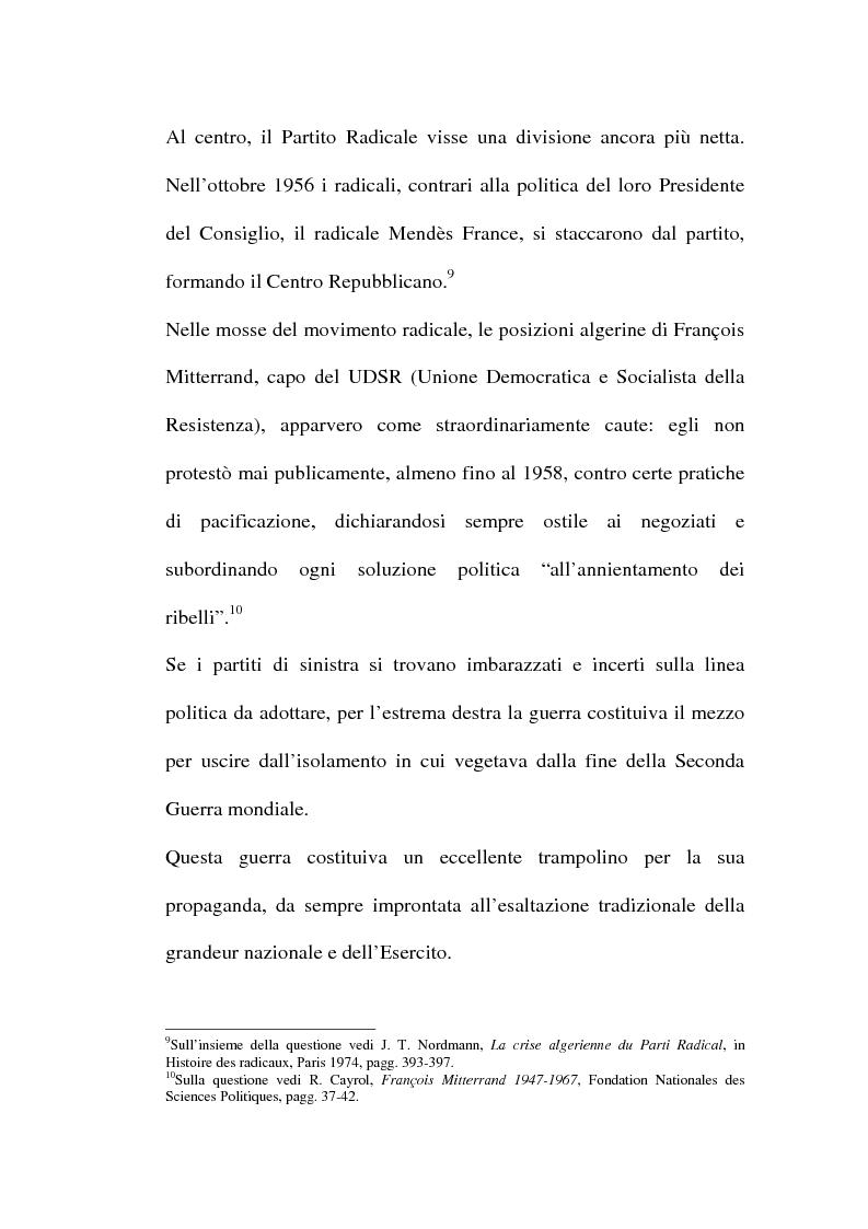 Anteprima della tesi: Il problema algerino e de Gaulle, Pagina 5