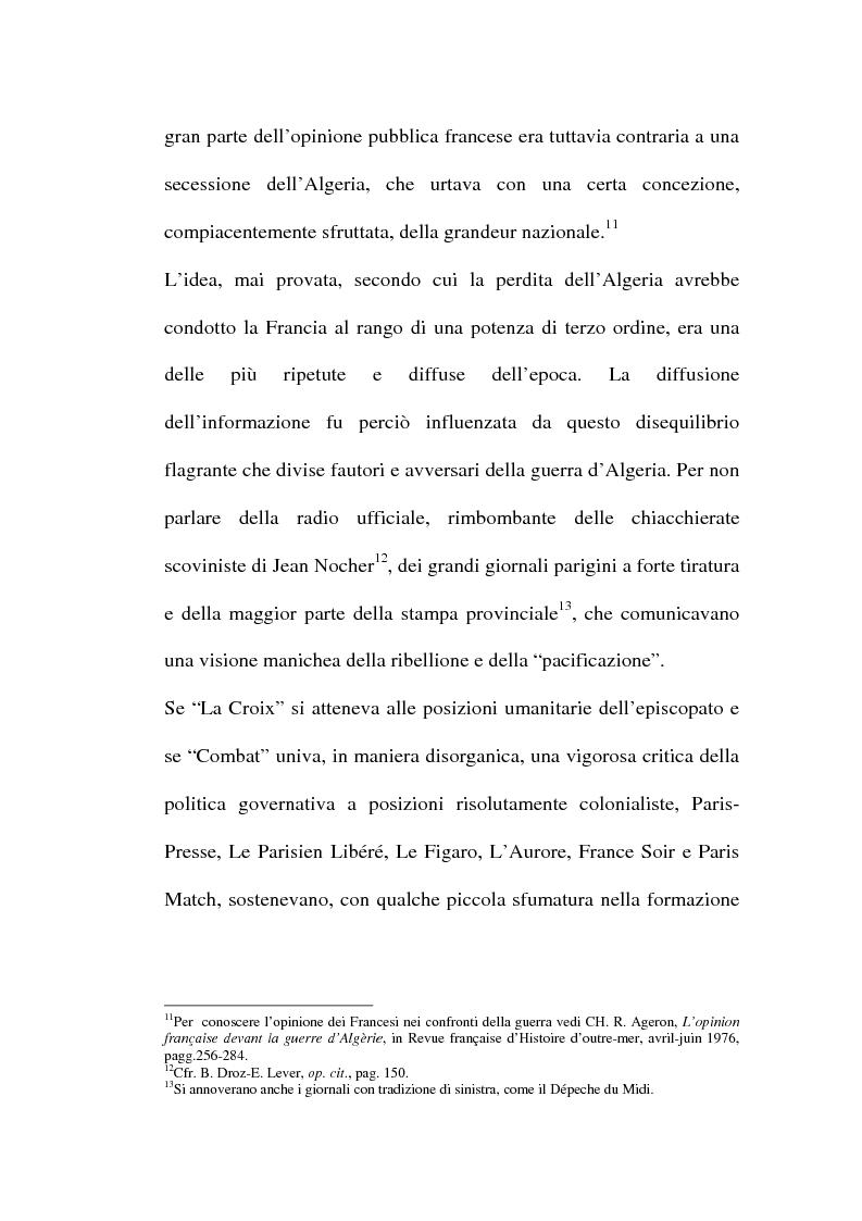 Anteprima della tesi: Il problema algerino e de Gaulle, Pagina 7