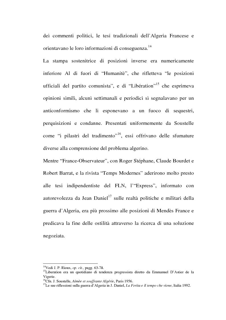 Anteprima della tesi: Il problema algerino e de Gaulle, Pagina 8