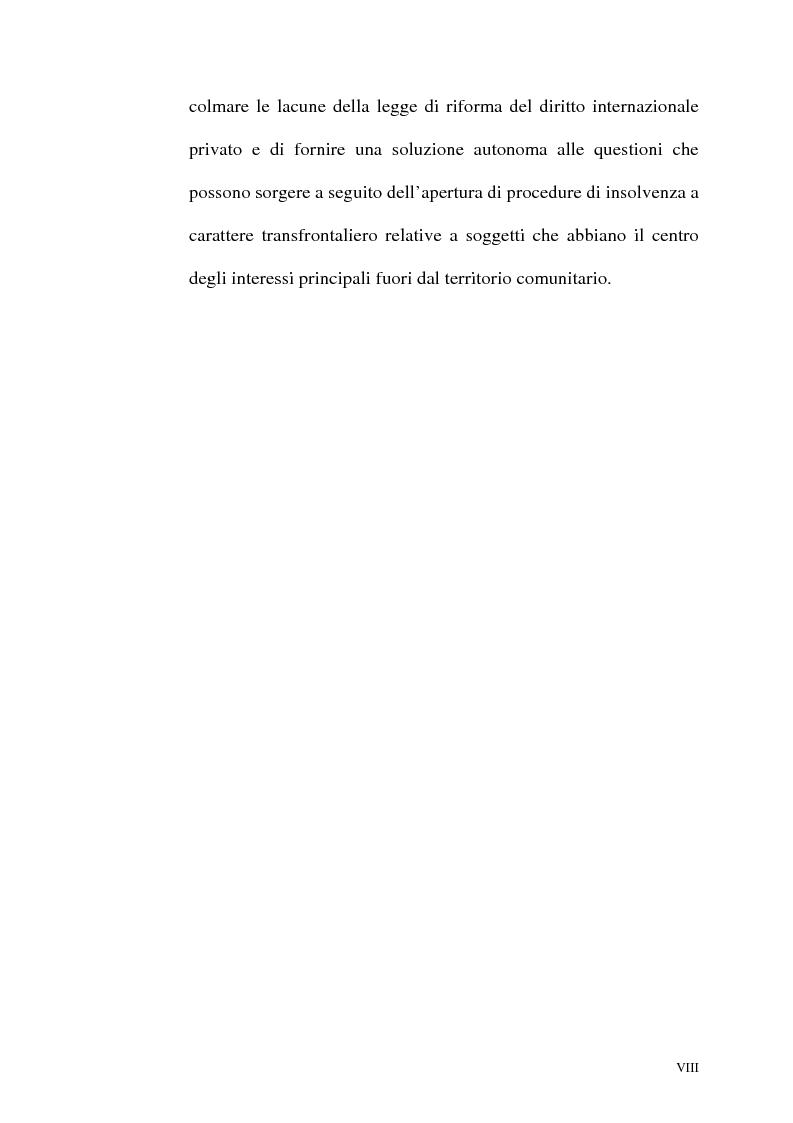 Anteprima della tesi: Il fallimento transfrontaliero nel regolamento comunitario 1346/2000 del 29 maggio 2000, Pagina 8