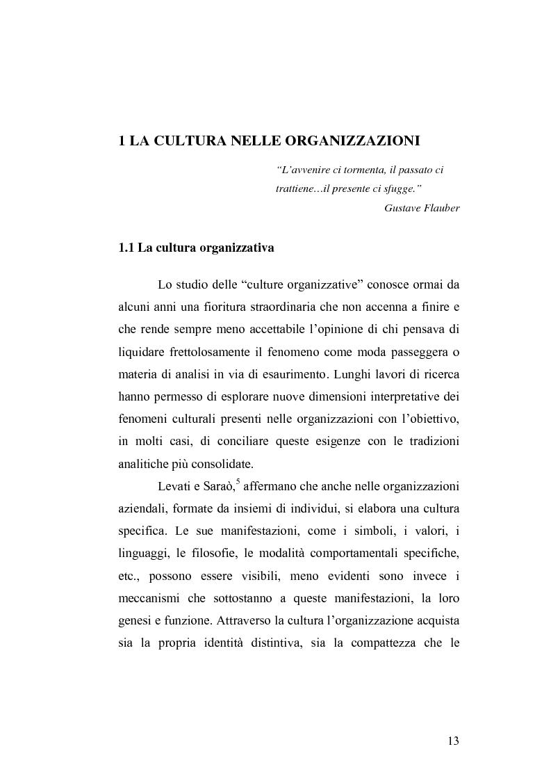 Anteprima della tesi: Il cambiamento culturale. Sviluppo, aggiornamento e consolidamento delle competenze: il caso Italferr, Pagina 10