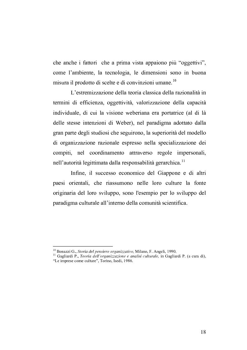 Anteprima della tesi: Il cambiamento culturale. Sviluppo, aggiornamento e consolidamento delle competenze: il caso Italferr, Pagina 15