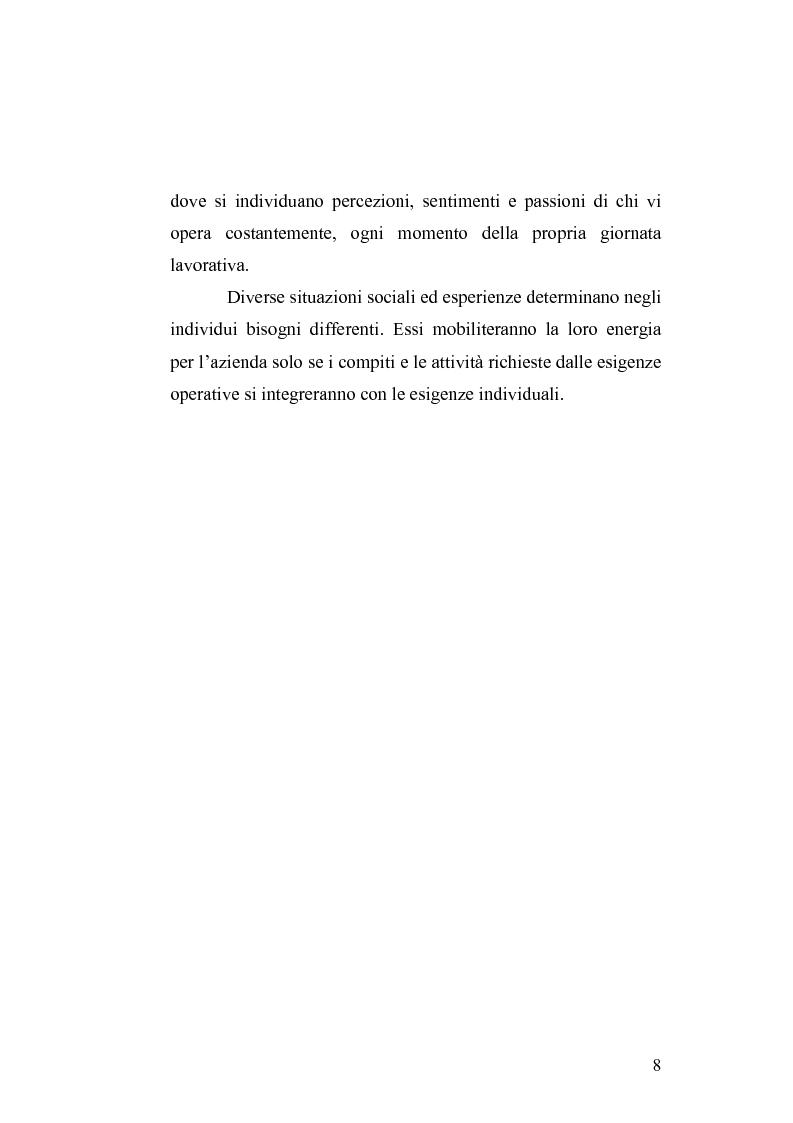 Anteprima della tesi: Il cambiamento culturale. Sviluppo, aggiornamento e consolidamento delle competenze: il caso Italferr, Pagina 5