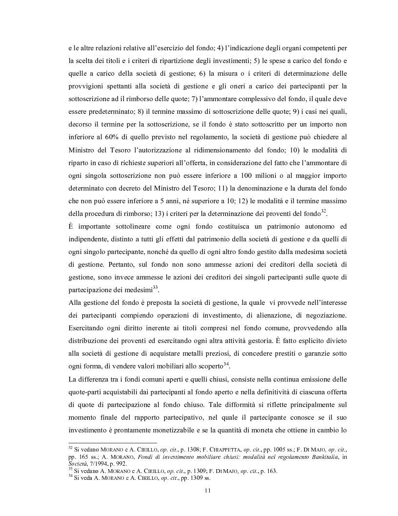 Anteprima della tesi: Le società di gestione del risparmio, Pagina 11