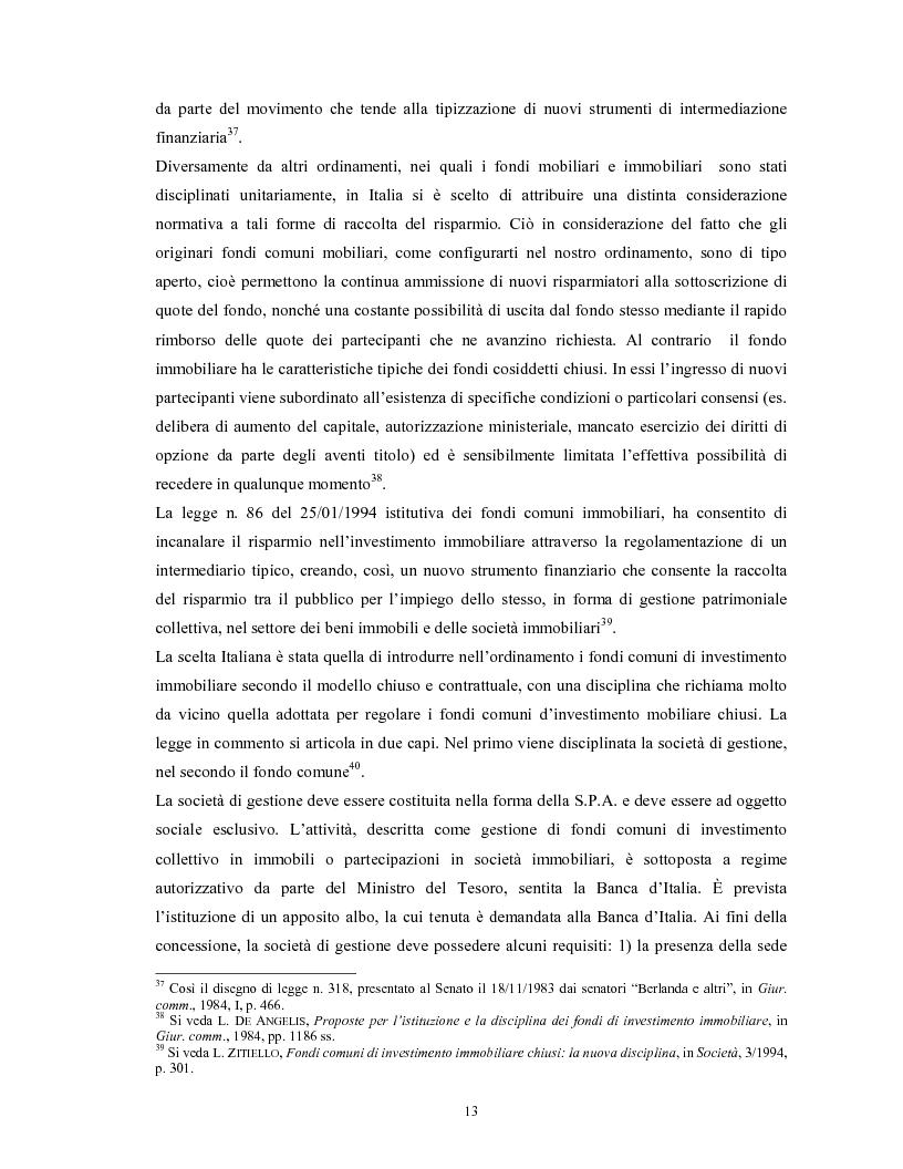Anteprima della tesi: Le società di gestione del risparmio, Pagina 13