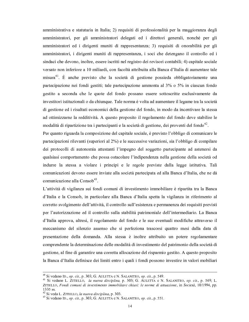 Anteprima della tesi: Le società di gestione del risparmio, Pagina 14