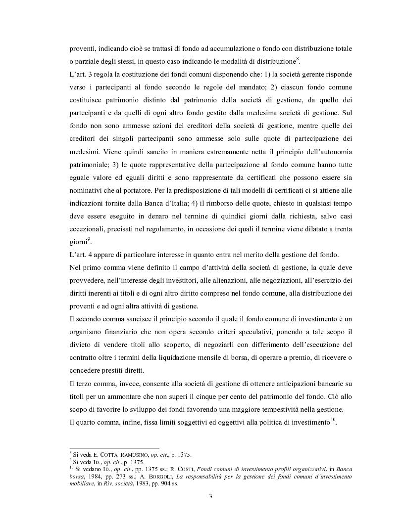 Anteprima della tesi: Le società di gestione del risparmio, Pagina 3