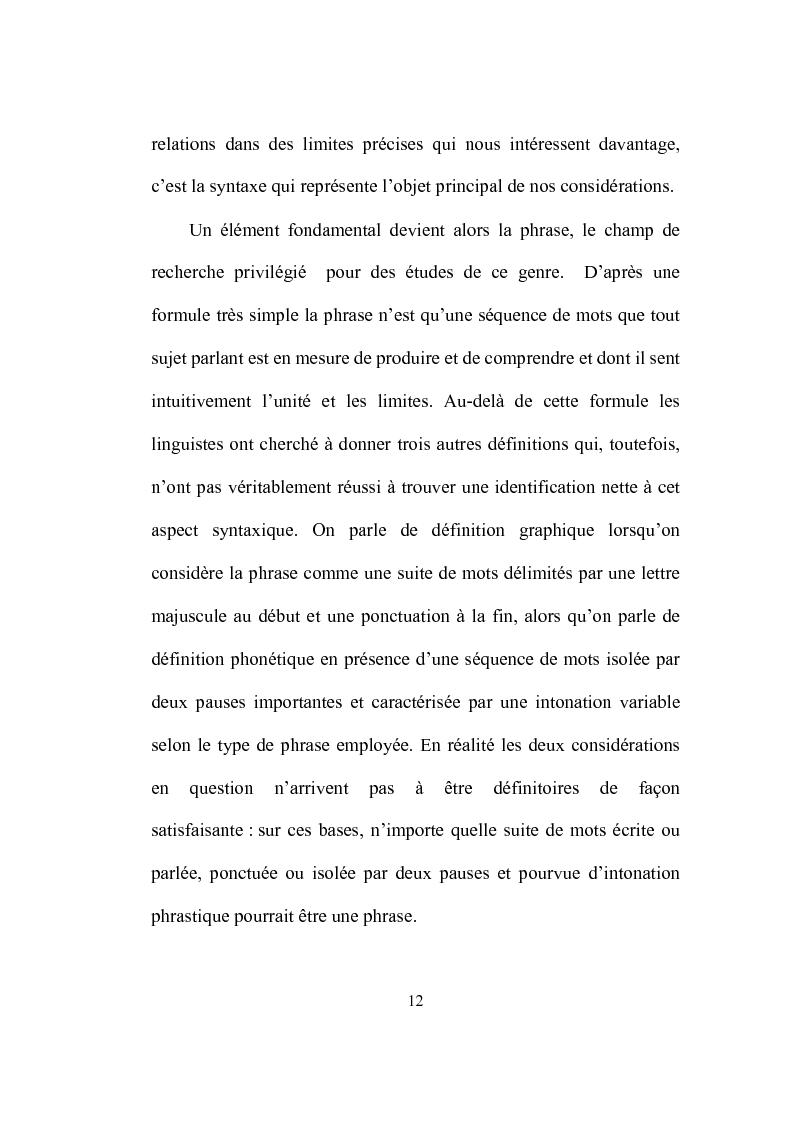 Anteprima della tesi: Formation et place de l'adjectif dans la presse française, Pagina 12