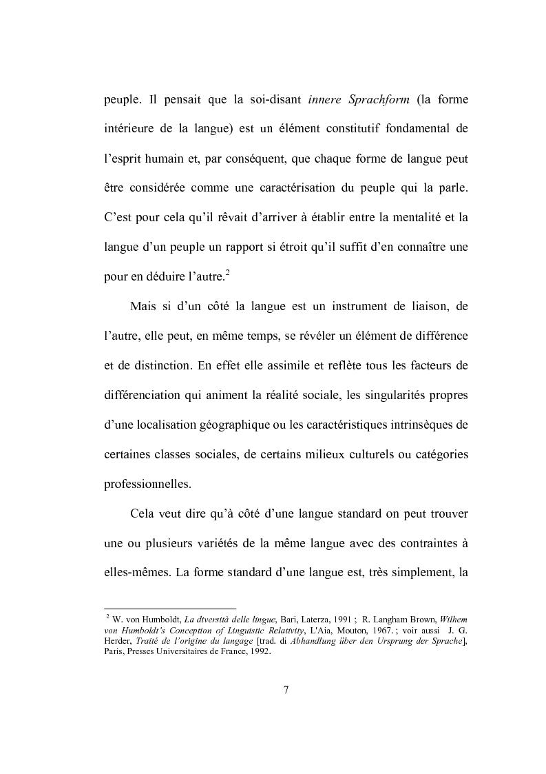 Anteprima della tesi: Formation et place de l'adjectif dans la presse française, Pagina 7