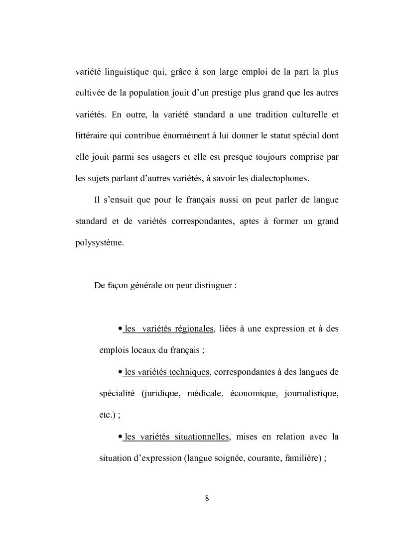 Anteprima della tesi: Formation et place de l'adjectif dans la presse française, Pagina 8