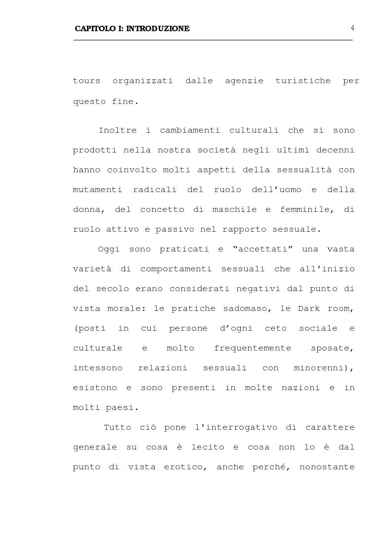 Anteprima della tesi: La pedofilia: aspetti criminologici - psichiatrico forensi, Pagina 4