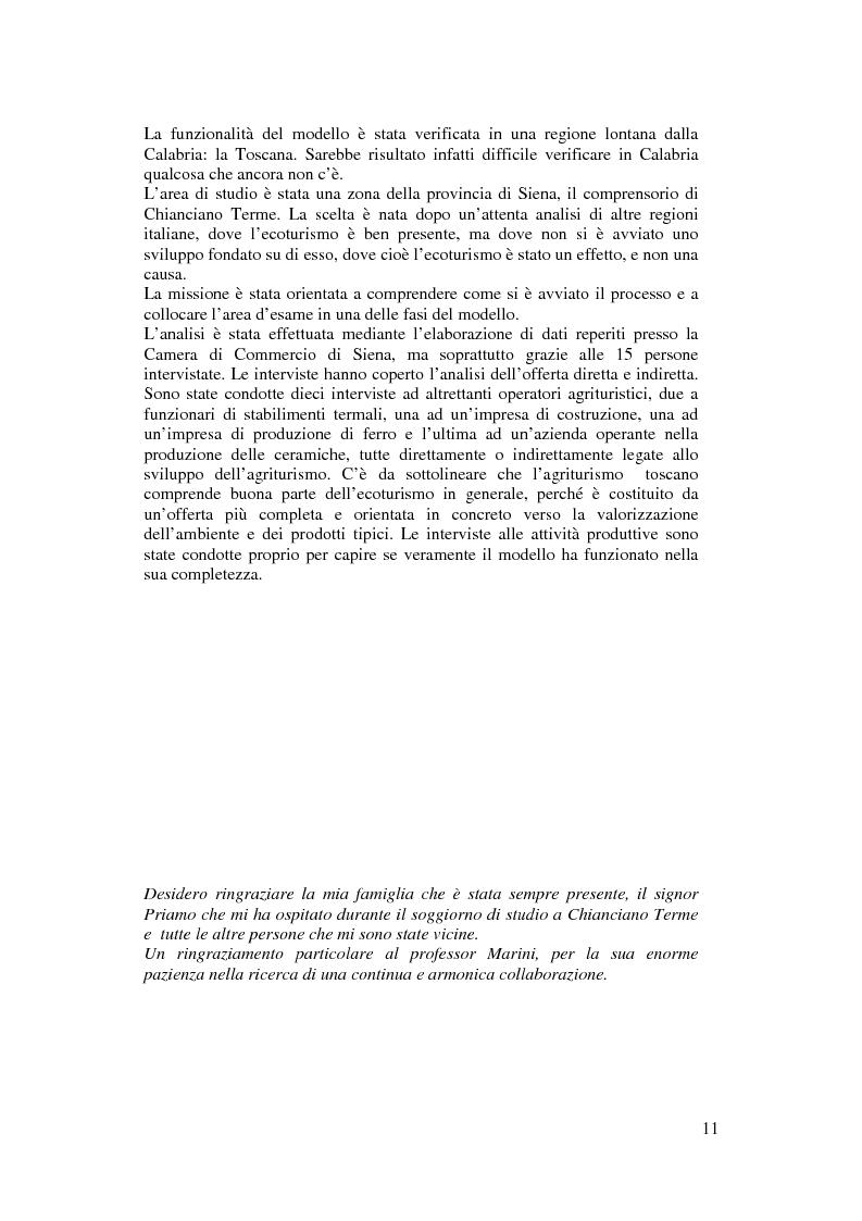 Anteprima della tesi: Per un modello di sviluppo della Calabria fondato sull'ecoturismo, Pagina 5