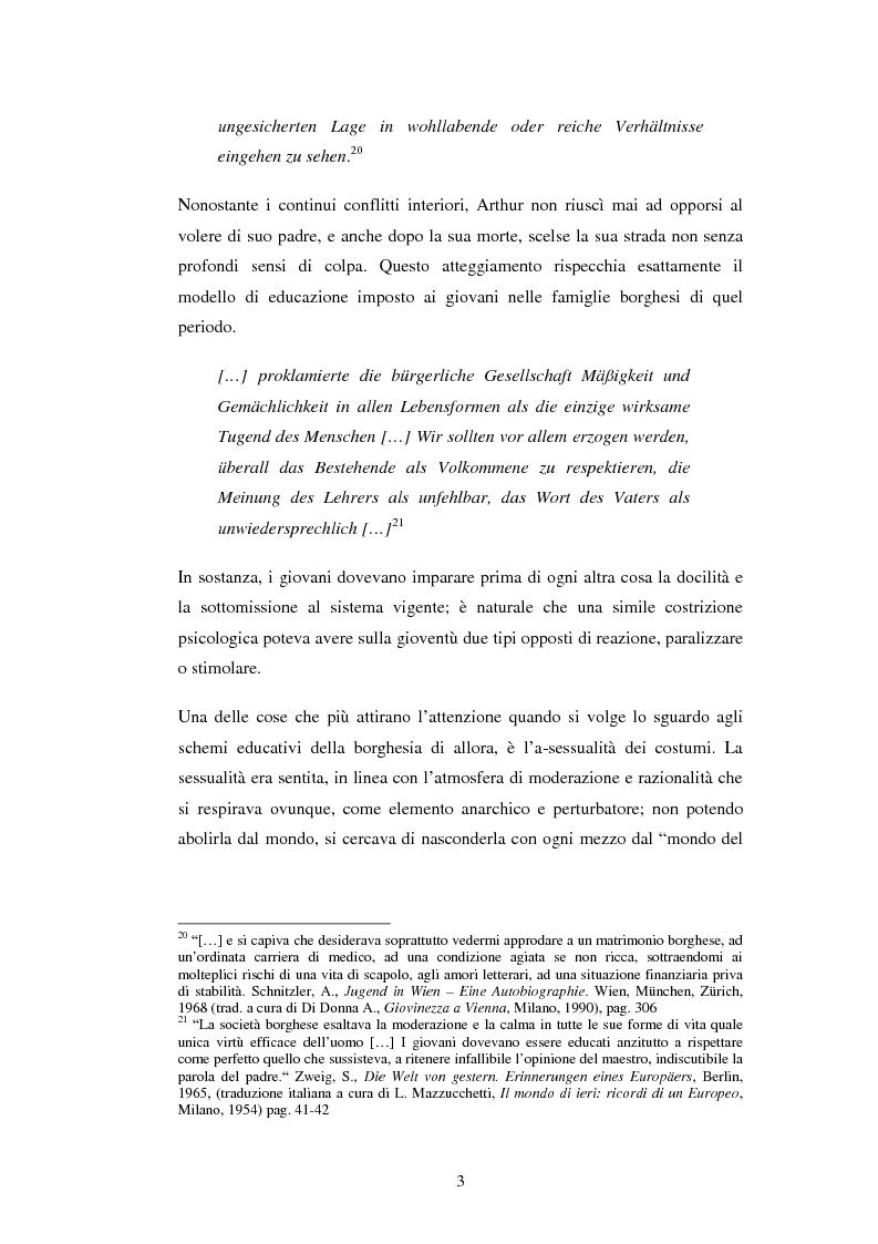 Anteprima della tesi: Schein e Sein: il confine tra finzione e realtà nelle commedie di Arthur Schnitzler, Pagina 11