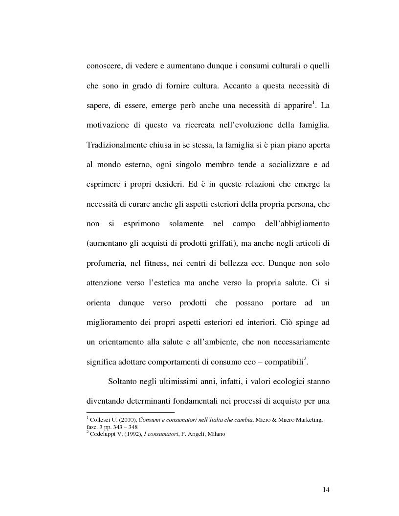 Anteprima della tesi: I nuovi rapporti tra impresa e consumatore: il caso Procter & Gamble, Pagina 10