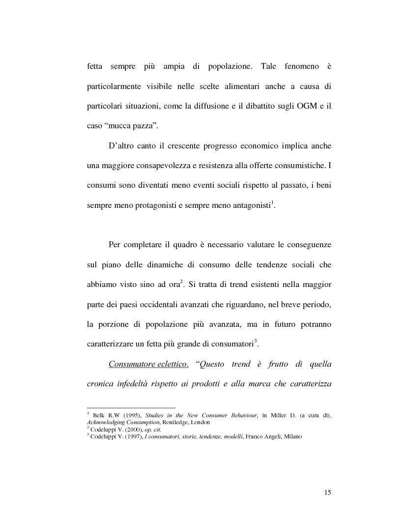 Anteprima della tesi: I nuovi rapporti tra impresa e consumatore: il caso Procter & Gamble, Pagina 11