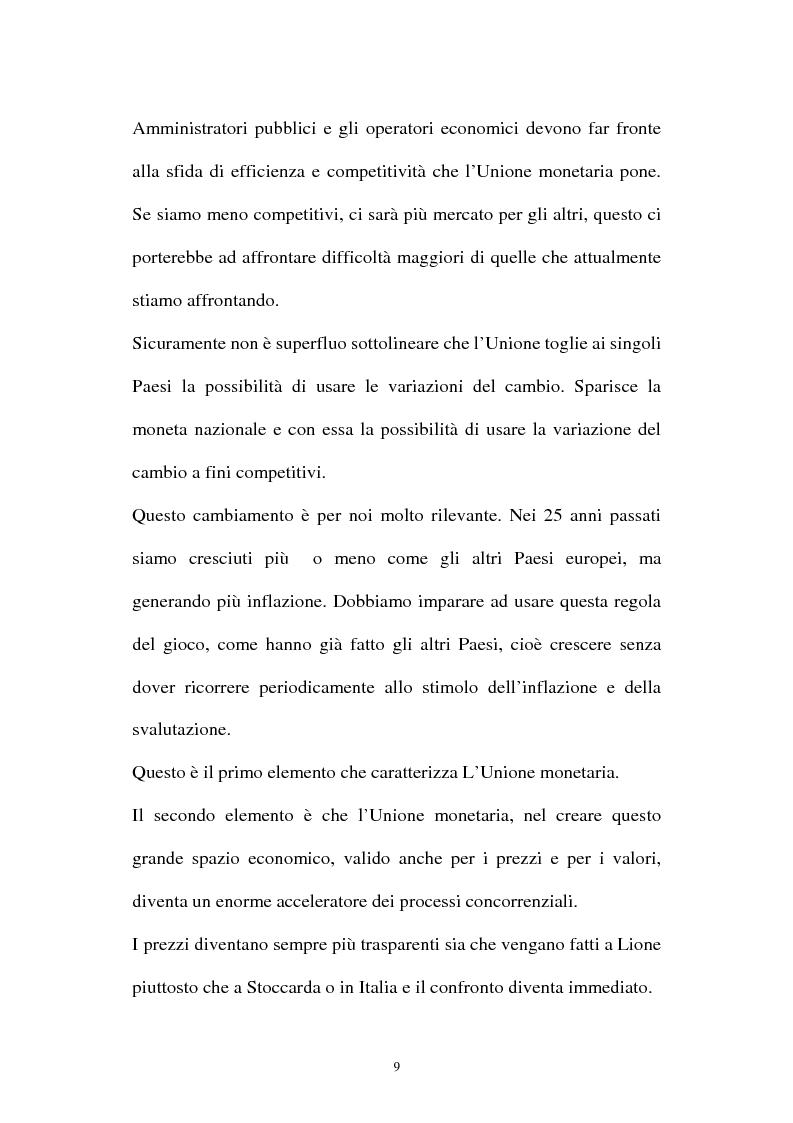 Anteprima della tesi: Le aziende della grande distribuzione in Italia: analisi statistica in una prospettiva di benchmarking, Pagina 9