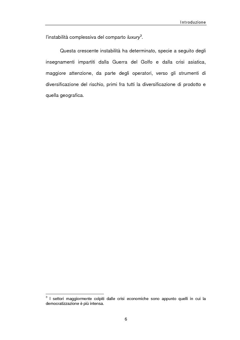 Anteprima della tesi: Le sfide della distribuzione diretta per le Luxury Brands, Pagina 6