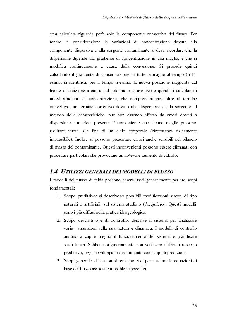 Anteprima della tesi: Modellazione del flusso idrico nel sottosuolo dell'area industriale ravennate, Pagina 12