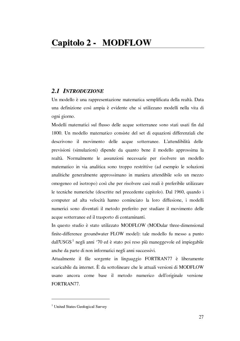 Anteprima della tesi: Modellazione del flusso idrico nel sottosuolo dell'area industriale ravennate, Pagina 13