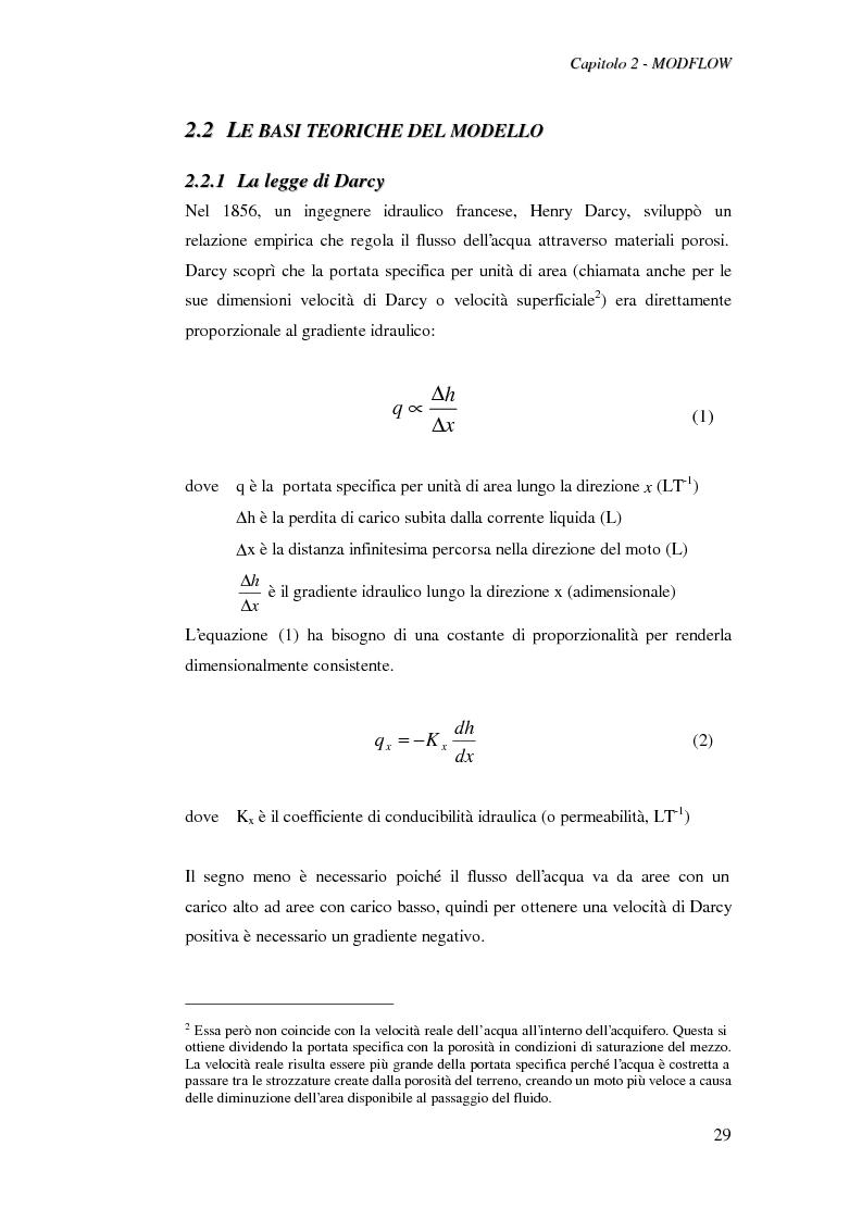 Anteprima della tesi: Modellazione del flusso idrico nel sottosuolo dell'area industriale ravennate, Pagina 15