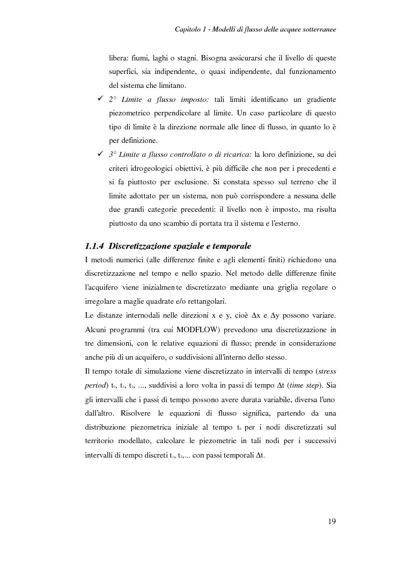 Anteprima della tesi: Modellazione del flusso idrico nel sottosuolo dell'area industriale ravennate, Pagina 6