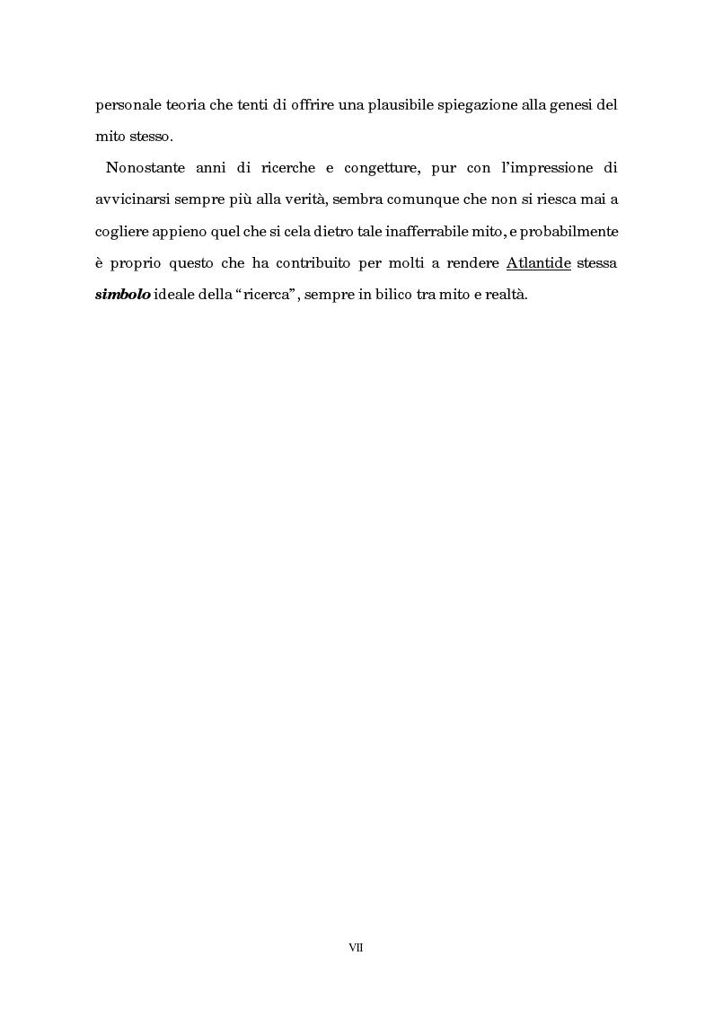 Anteprima della tesi: Atlantide tra mito e archeologia, Pagina 3