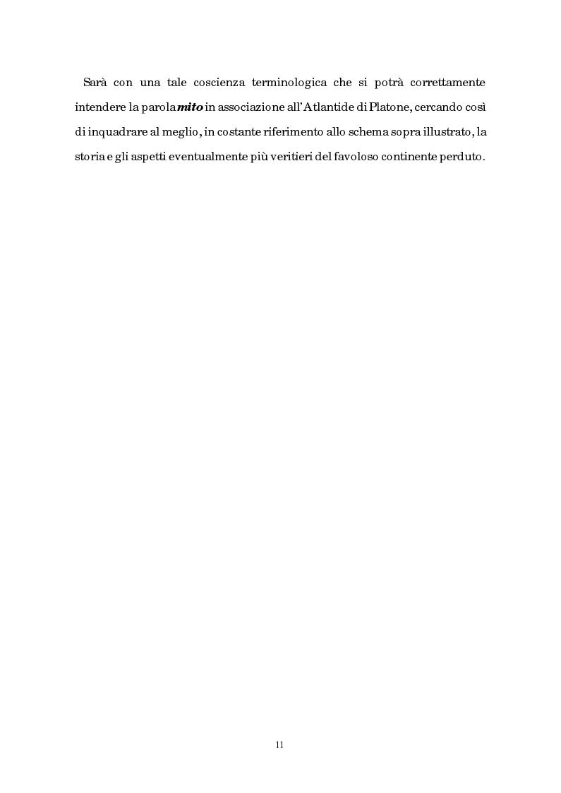 Anteprima della tesi: Atlantide tra mito e archeologia, Pagina 7
