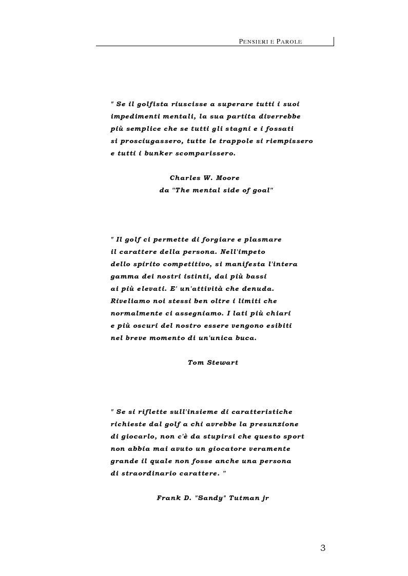 Anteprima della tesi: Golf: strumento di sviluppo economico locale, Pagina 10