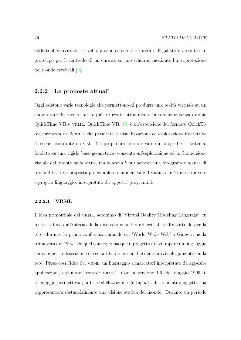 Anteprima della tesi: Progetto Minerva: sviluppo di un agente assistente per la visita di un museo, Pagina 14