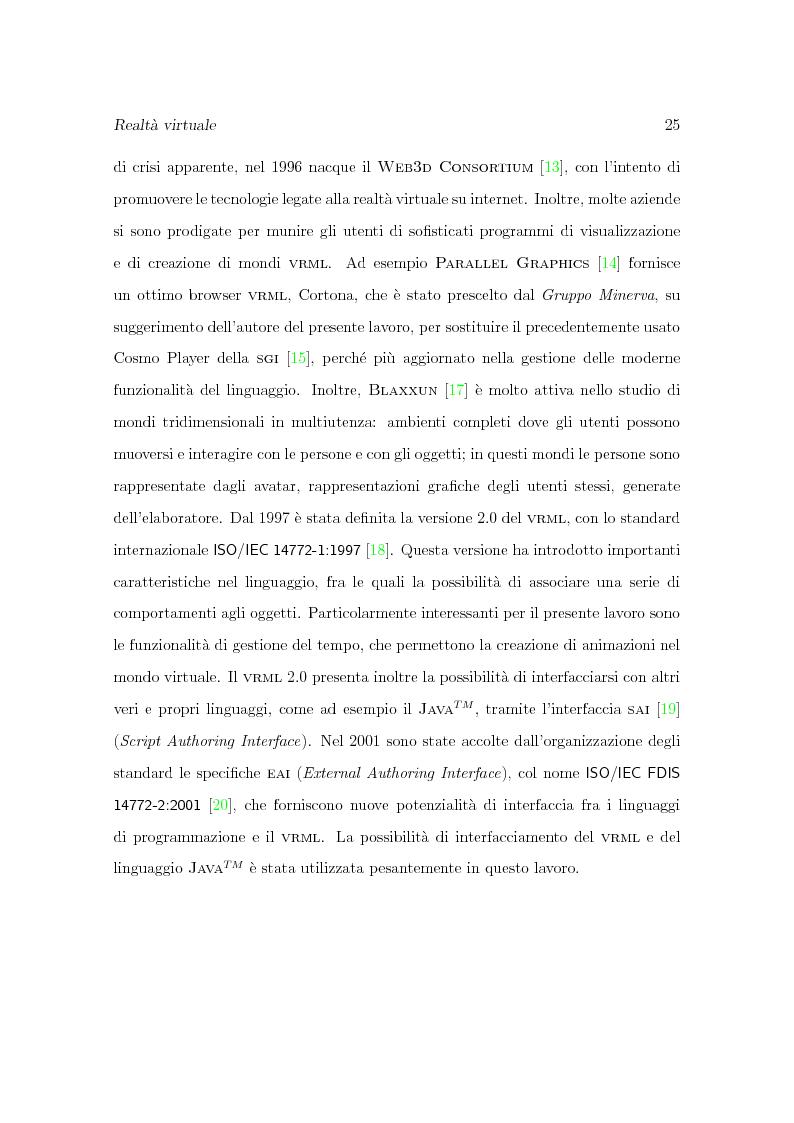 Anteprima della tesi: Progetto Minerva: sviluppo di un agente assistente per la visita di un museo, Pagina 15