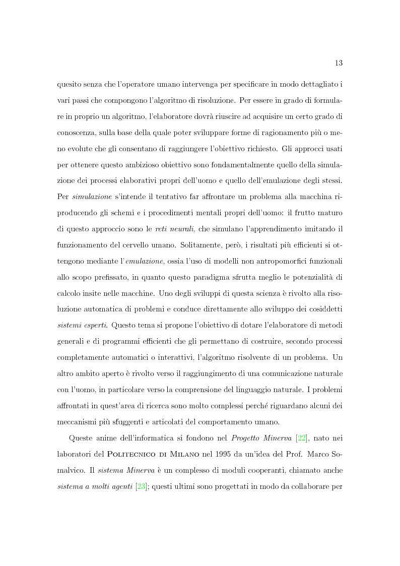 Anteprima della tesi: Progetto Minerva: sviluppo di un agente assistente per la visita di un museo, Pagina 3