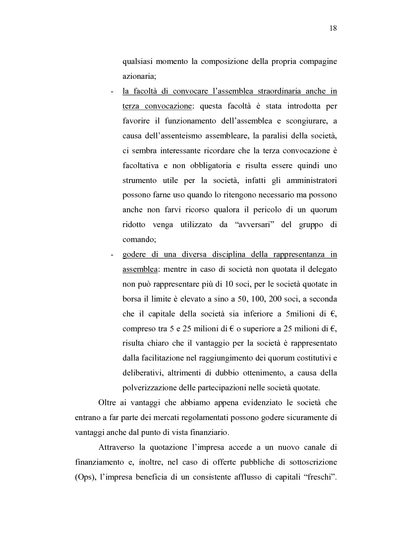 Anteprima della tesi: Initial Pubblic Offering: efficiente strumento di raccolta del risparmio o debacle dei risparmiatori?, Pagina 15