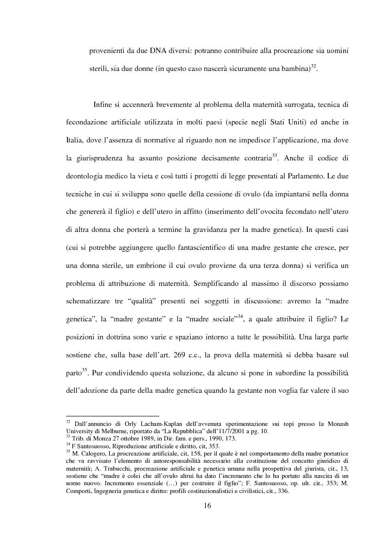 Anteprima della tesi: Procreazione e scelta responsabile, Pagina 13