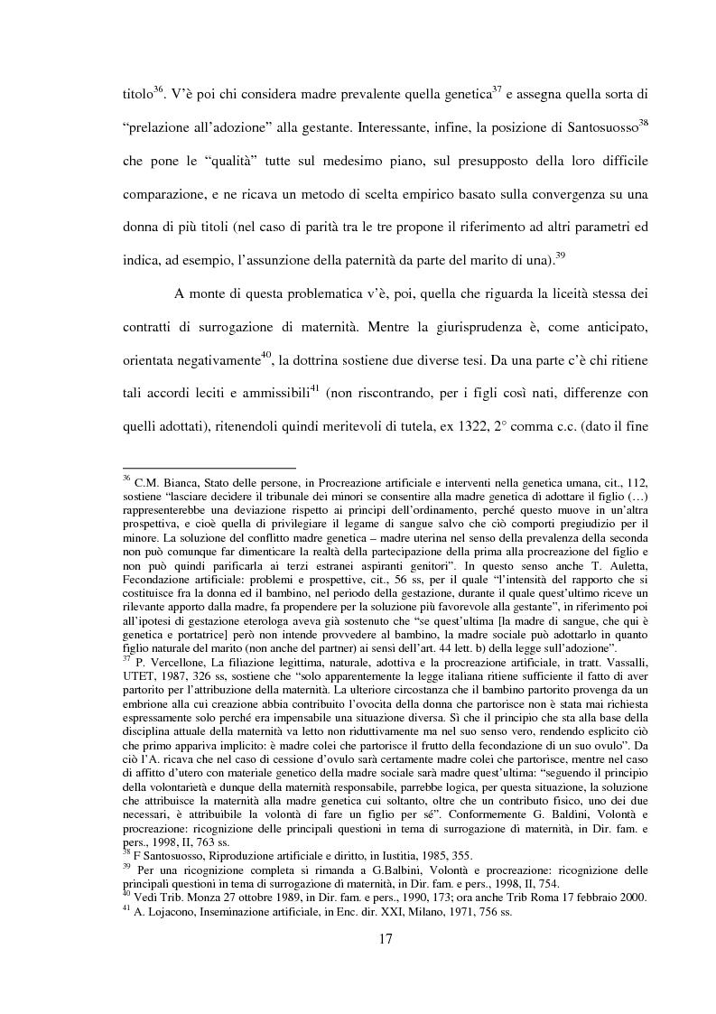 Anteprima della tesi: Procreazione e scelta responsabile, Pagina 14