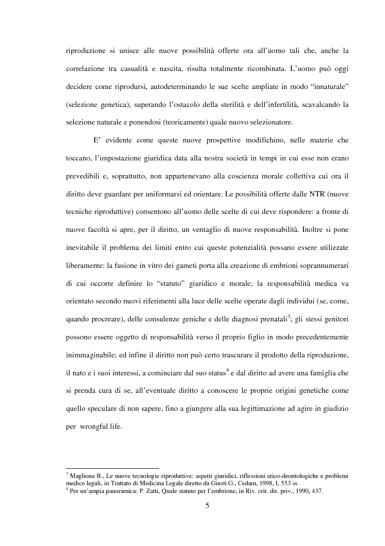 Anteprima della tesi: Procreazione e scelta responsabile, Pagina 2