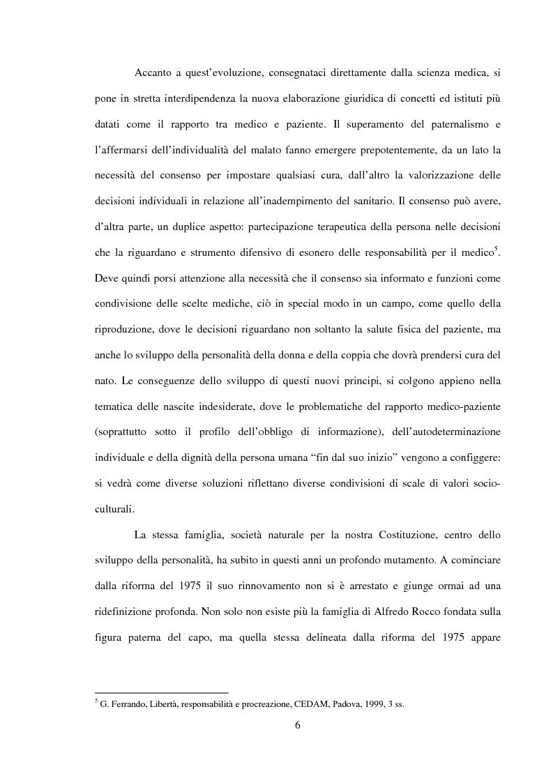 Anteprima della tesi: Procreazione e scelta responsabile, Pagina 3