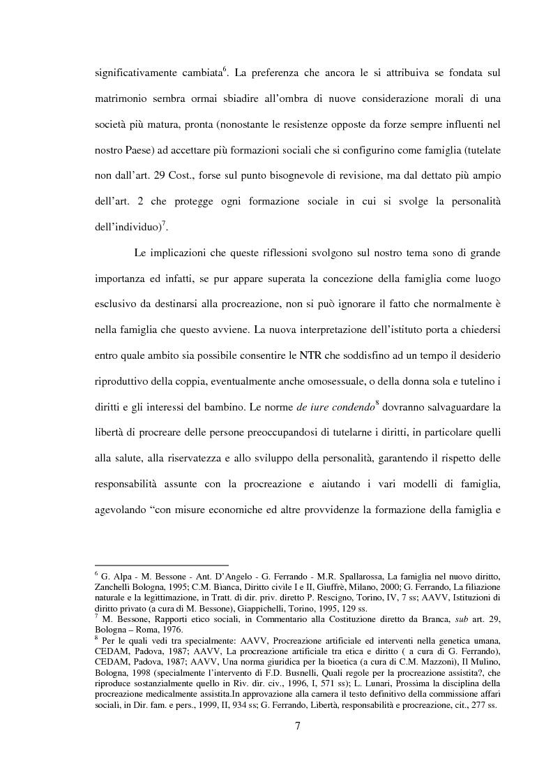 Anteprima della tesi: Procreazione e scelta responsabile, Pagina 4