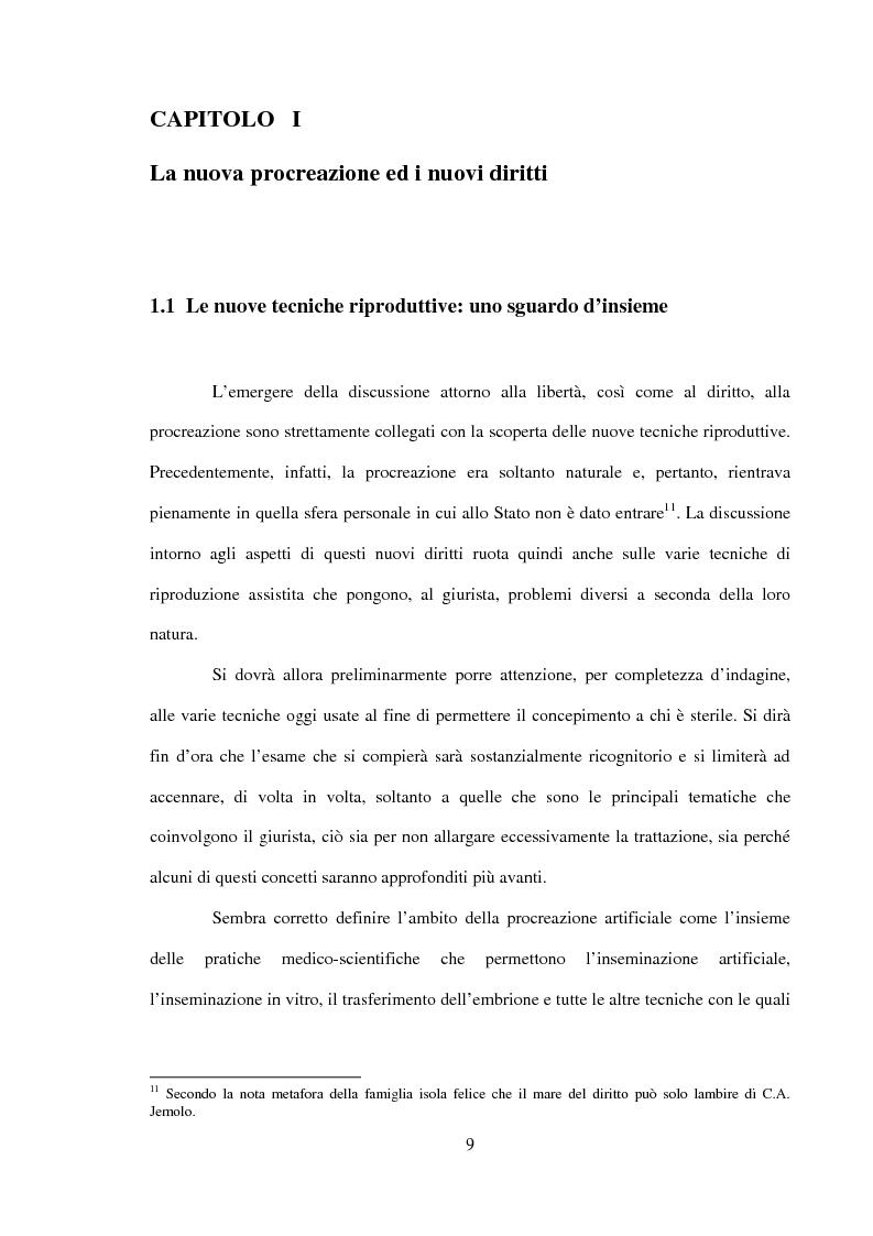 Anteprima della tesi: Procreazione e scelta responsabile, Pagina 6