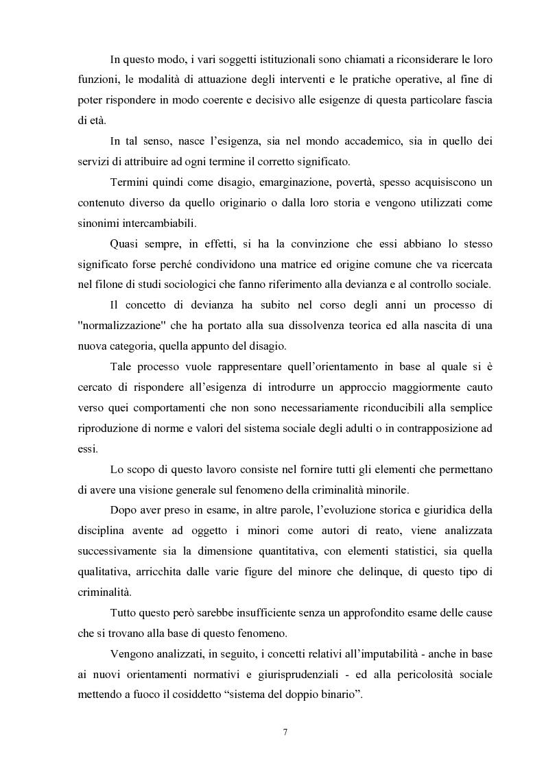 Anteprima della tesi: Criminalità minorile: aspetti medico-legali e nuovi orientamenti normativi e giurisprudenziali, Pagina 3