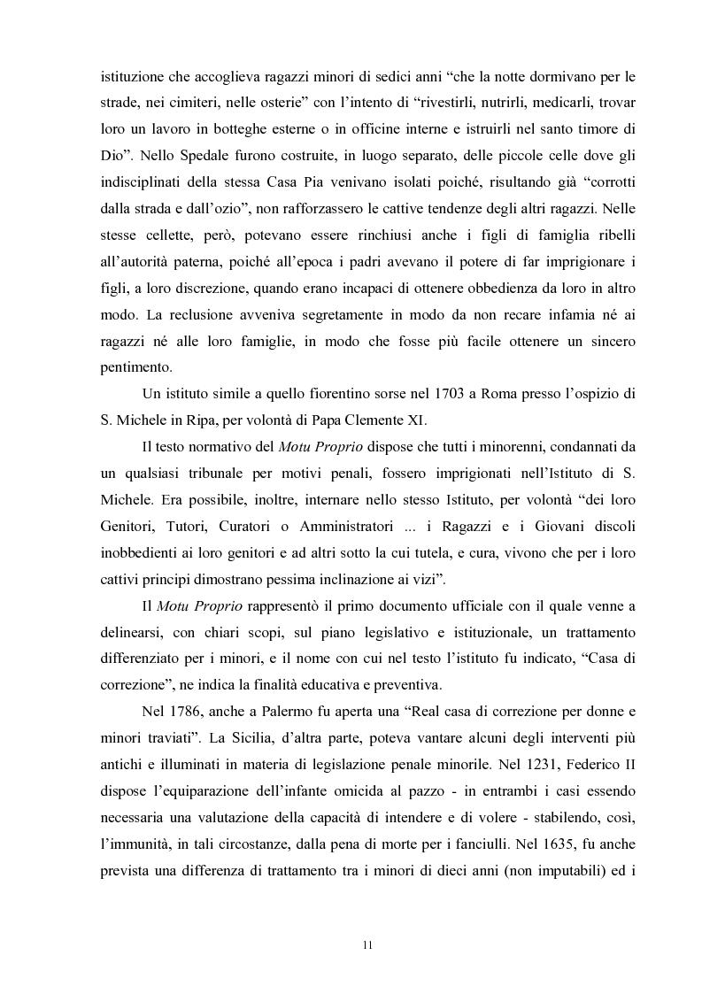 Anteprima della tesi: Criminalità minorile: aspetti medico-legali e nuovi orientamenti normativi e giurisprudenziali, Pagina 7