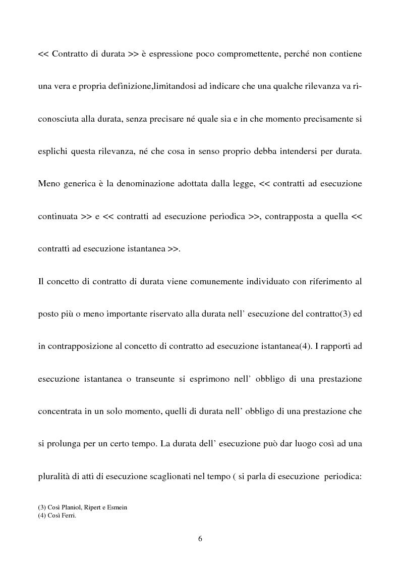 Anteprima della tesi: Gli effetti della sentenza dichiarativa di fallimento sui contratti di durata, Pagina 3