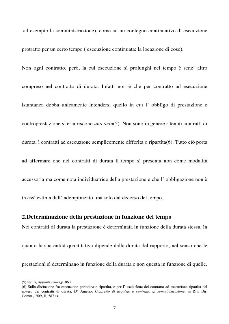 Anteprima della tesi: Gli effetti della sentenza dichiarativa di fallimento sui contratti di durata, Pagina 4
