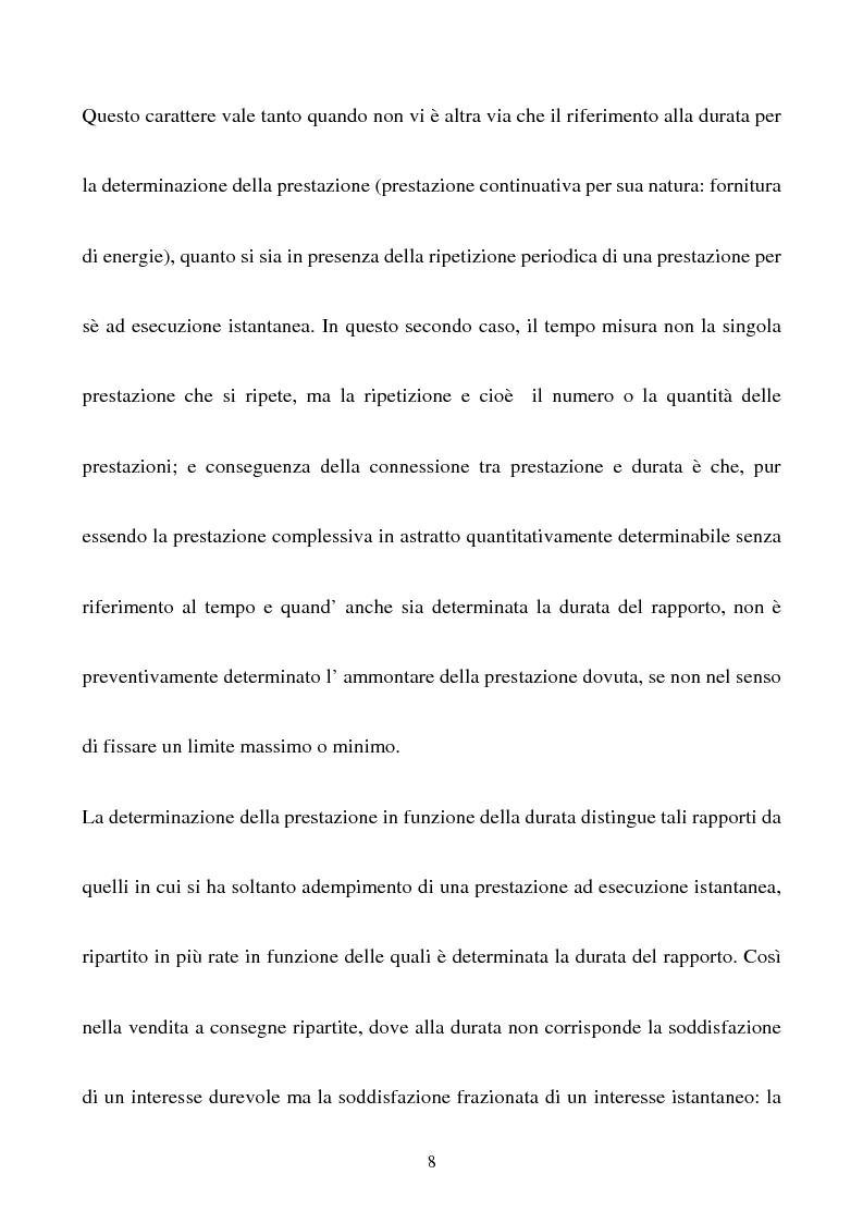 Anteprima della tesi: Gli effetti della sentenza dichiarativa di fallimento sui contratti di durata, Pagina 5