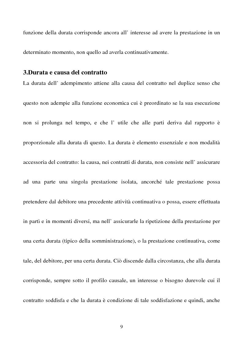 Anteprima della tesi: Gli effetti della sentenza dichiarativa di fallimento sui contratti di durata, Pagina 6