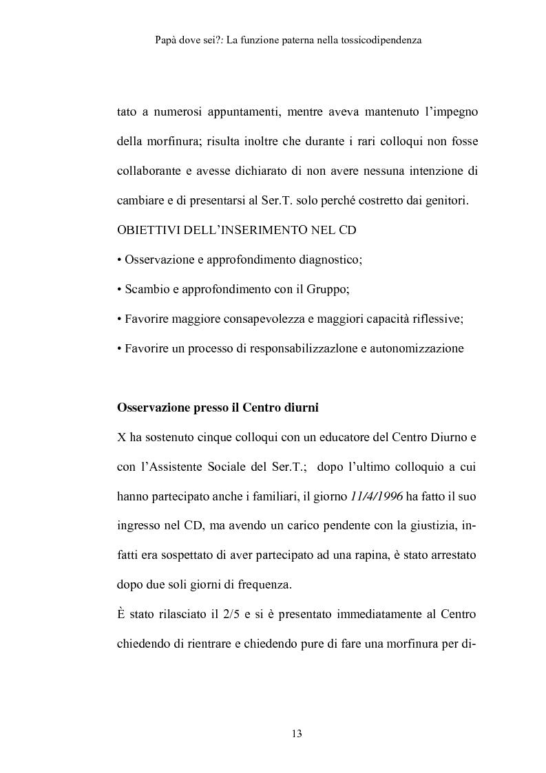 Anteprima della tesi: La funzione paterna nella tossicodipendenza, Pagina 10