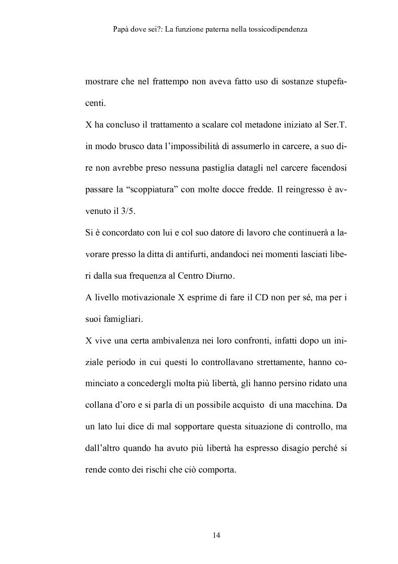 Anteprima della tesi: La funzione paterna nella tossicodipendenza, Pagina 11
