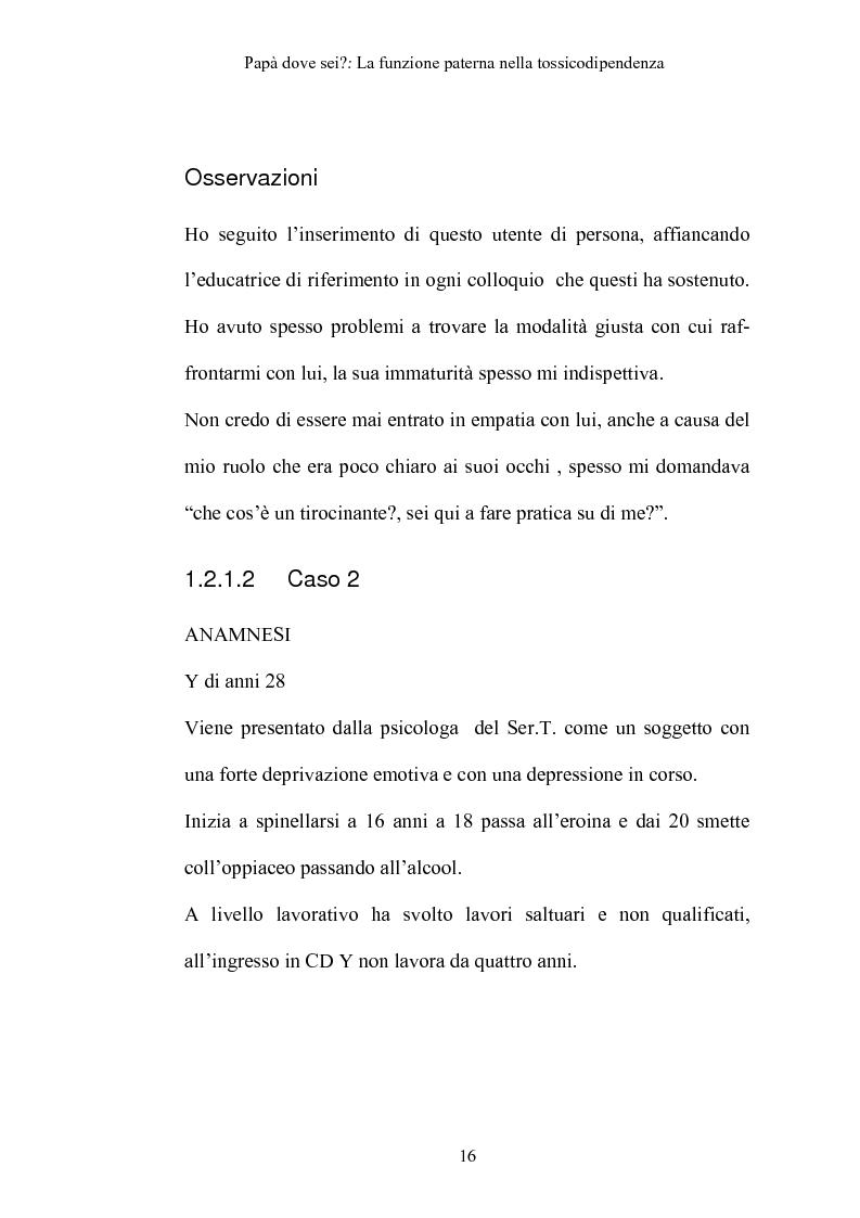 Anteprima della tesi: La funzione paterna nella tossicodipendenza, Pagina 13