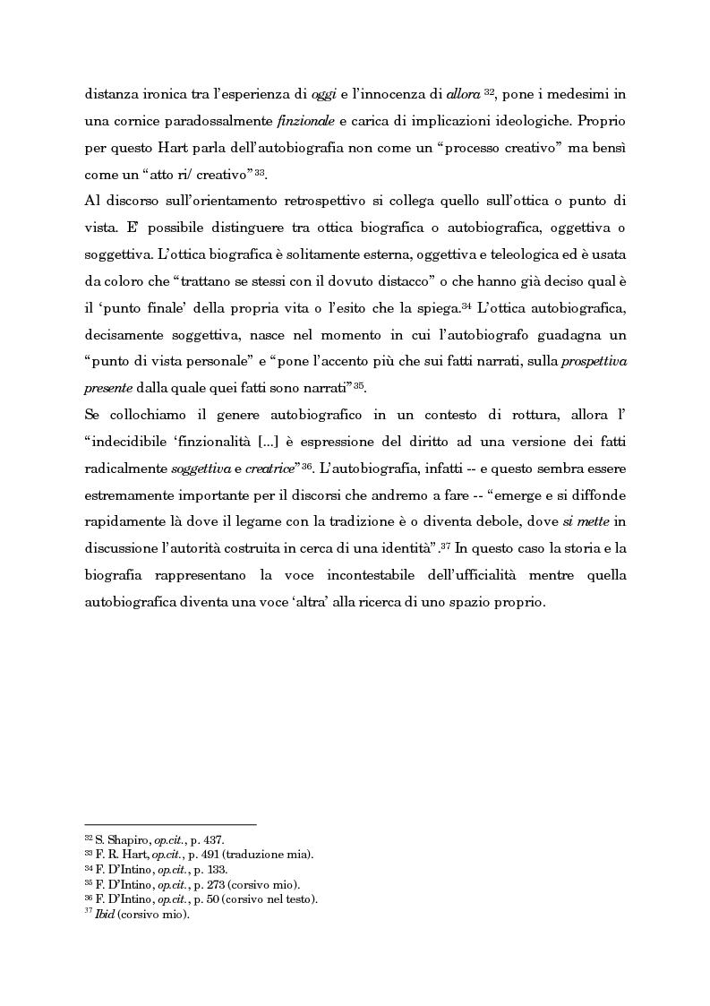 Anteprima della tesi: Wild Swans: storia, auto/biografia e identità femminile, Pagina 11